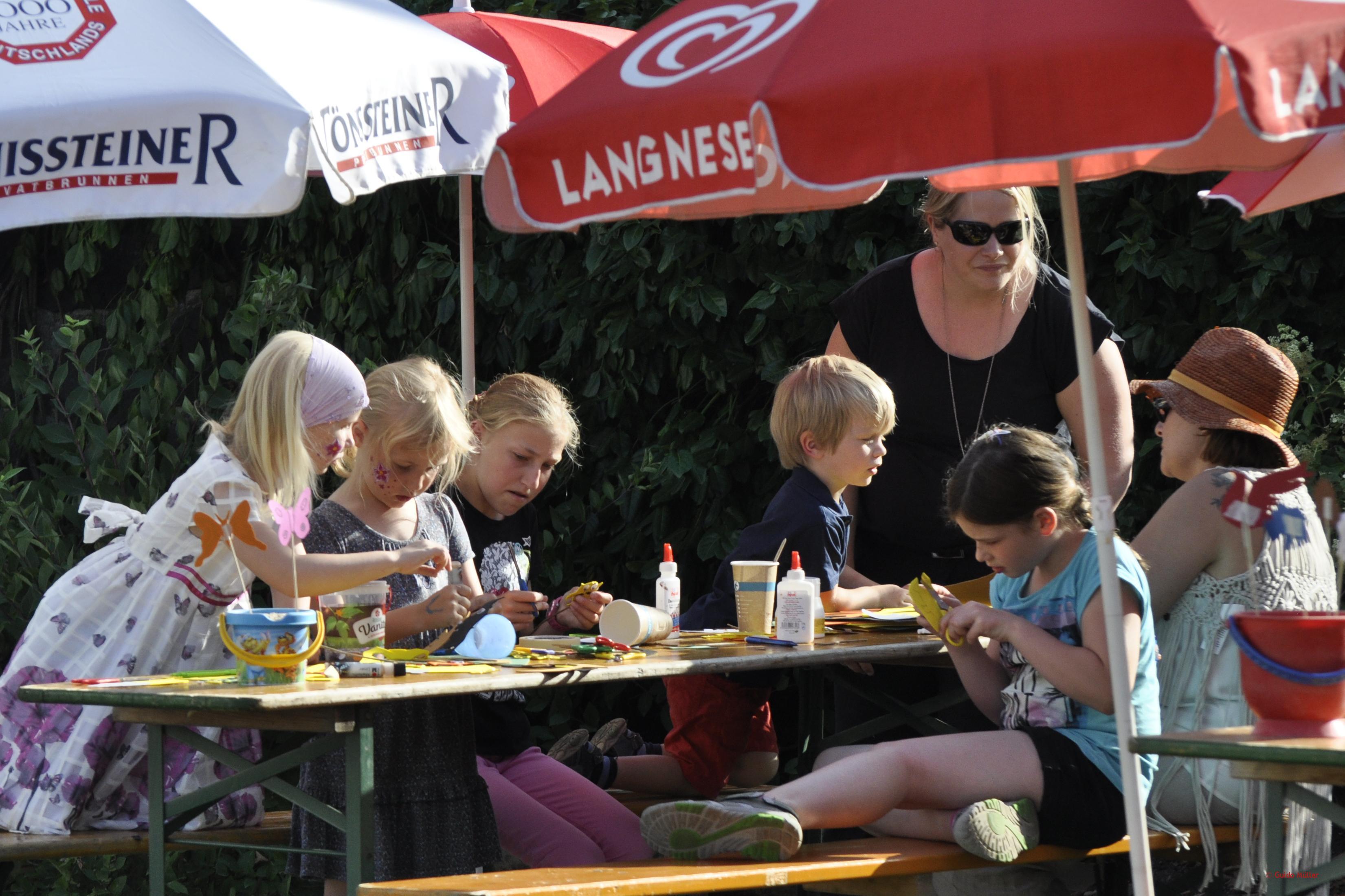 Sommerfest 2015 – Bastelecke
